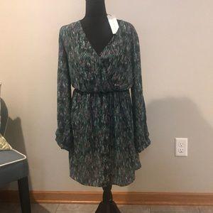 NWT Wrap Mini Dress